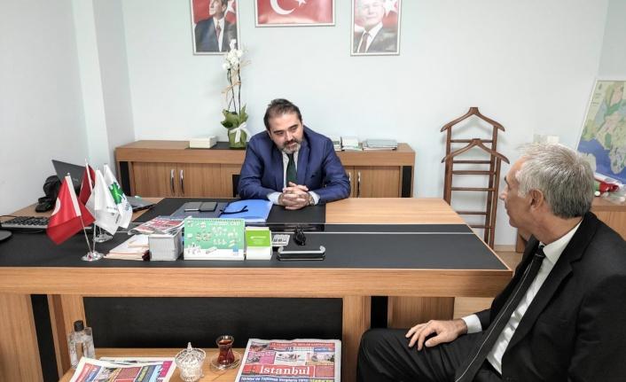 """İlçe Başkanı Ganioğlu: """"Büyük Bir İktidar Yürüyüşü Başlattık"""""""