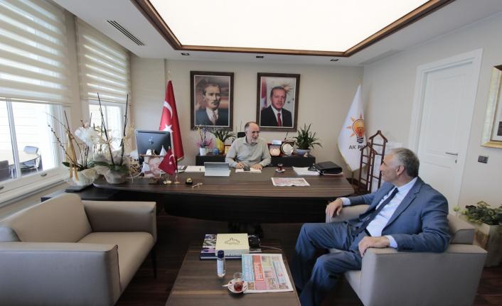 Ak Parti Sarıyer İlçe Başkanı Cevahiroğlu'na Ziyaret
