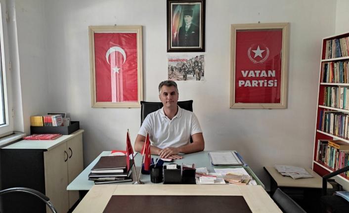 Vatan Partisi Sarıyer İlçe Başkanı Suntay'dan Açıklama