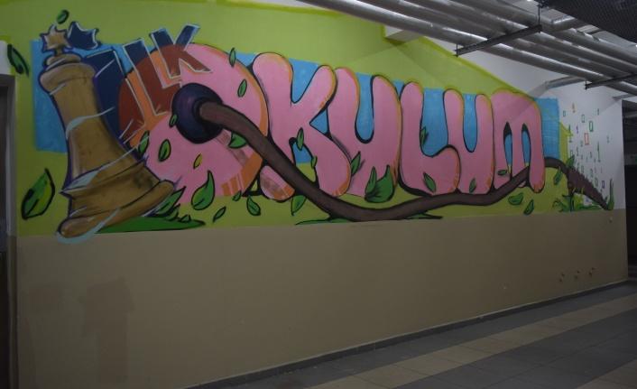 Sarıyer'de Okullar Rengarenk