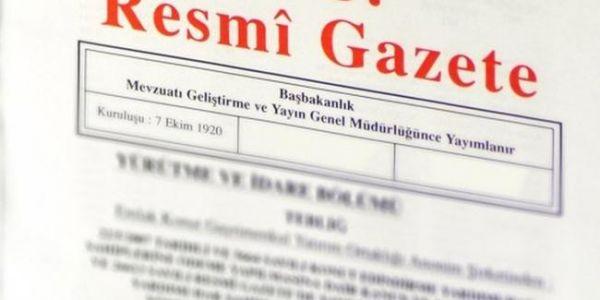 471 mülki idare amirinin görev yeri değiştirildi