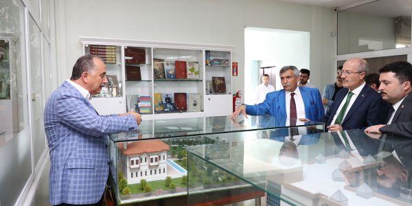 Ak Parti Milletvekili Yavuz Subaşı Ve Balıkesir Büyükşehir Belediye Başkanı Zekai Kafaoğlu, Bağcılar Belediyesi'ni Ziyaret Etti