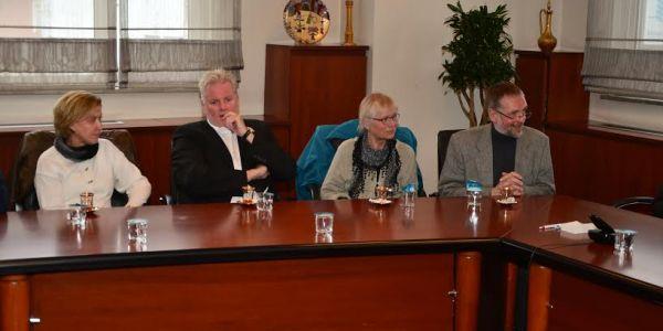 Almanya'dan Gelen Heyet Başkan Çağirici'yi Ziyaret Etti