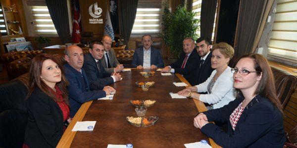 Arnavutluk'tan bağcılar'a ziyaret