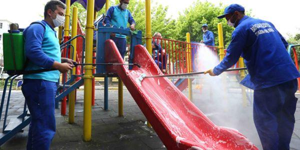 Bağcılar'da Hijyenik Park Temiz Oyun Grupları Hizmet Veriyor