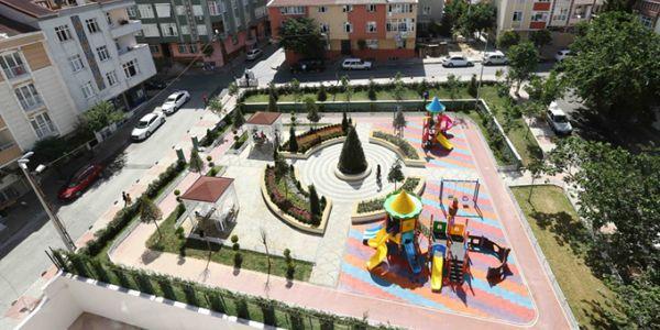 Bağcılar'da Kentsel Dönüşüm İle Parklar