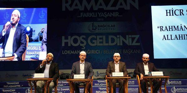 Bağcılar'da Kur'an ziyafeti