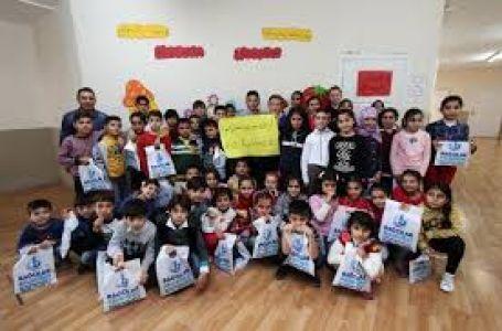 Bağcılarlı Çocuklardan Suriyeli Öğrencilere Sürpriz Ziyaret