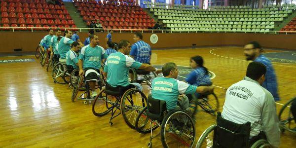 Bağcılarlı engelli basketçilerin hedefi Süper Lig