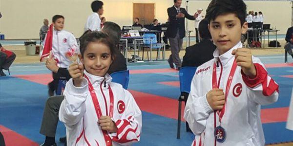 Bağcılarlı milli karateciler 2'si altın 3 madalya kazandı