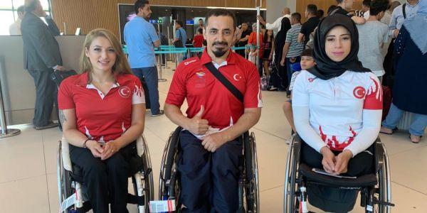 Bağcılarlı milli sporcular iki kıtada Türkiye adına yarışıyor