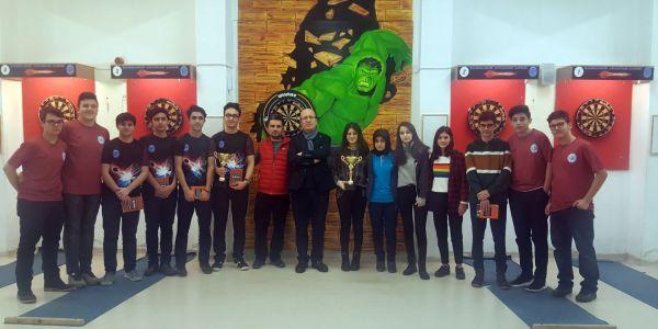 Barbaros Anadolu Lisesi, Dart Müsabakalarında İstanbul Şampiyonu Oldu