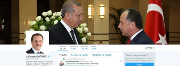 Başkan Çağırıcı Twitter'ı En Doğru Kullanan İnsan Oldu