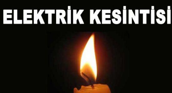 Dikkat:İstanbul'da Elektrik Kesintisi Var