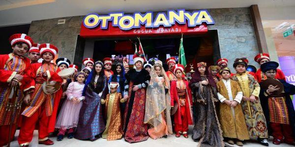 Engelli kursiyerlerin ottomanya ziyareti