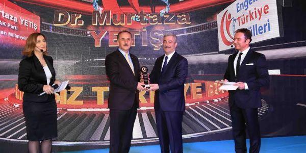"""""""Engelsiz Türkiye Ödülleri Sahiplerini Buldu"""""""