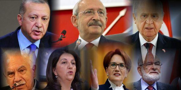 Erdoğan, Kılıçdaroğlu ve Bahçeli Sokağa Çıkma Yasağı Kapsamında