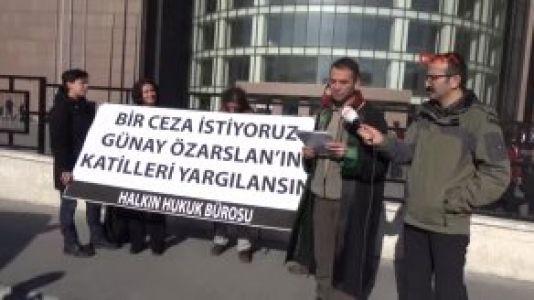 Günay Özarslan'ın Avukatlarından Basın Açıklaması