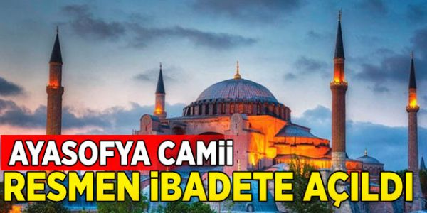 Halkın İsteği Ayasofya'nın Zincirlerini Kırdı