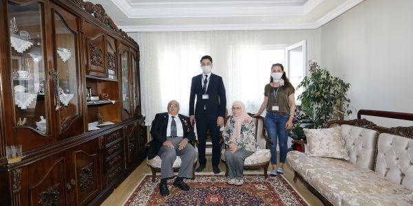 İBB Kıbrıs Gazilerini 46.Yılında Unutmadı
