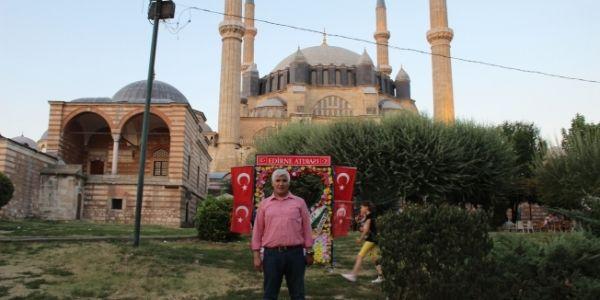 İstanbul Times Ekibi Edirne Selimiye Camisinde