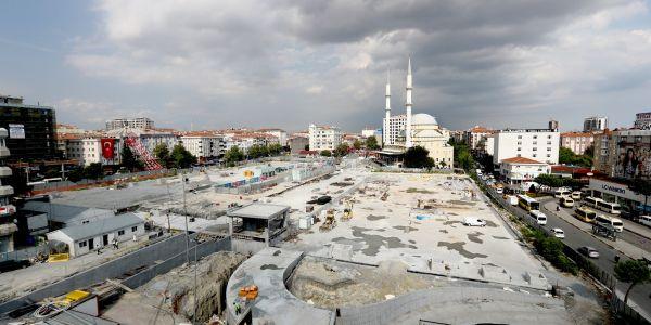 İstanbul'un En Modern Ve En Büyük Meydanlarından Biri Bağcılar'da Yapılıyor