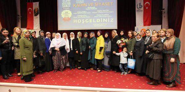 Kadın Belediye Başkanları Bağcılar'da 'Kadın Ve Siyaset' İ Konuştu
