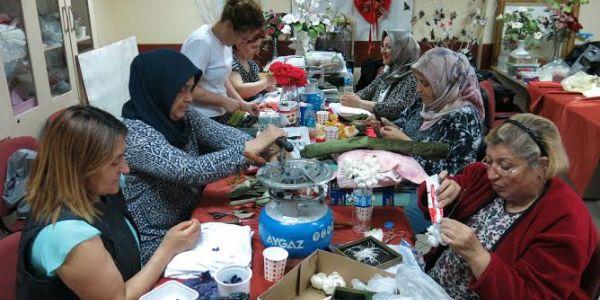 Kadın Ve Aile Merkezi Yazın Da İlgi Görüyor