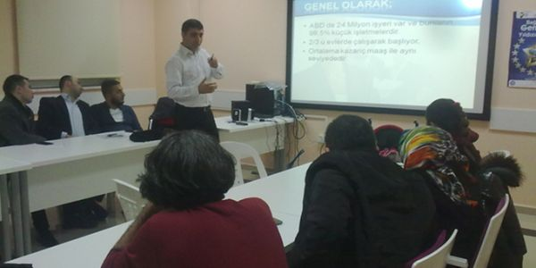 Kosgeb Uygulamalı Girişimcilik Eğitimi Başladı