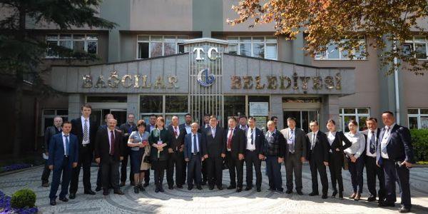 Moğolistanlı Heyet Bağcılar'da Kentsel Dönüşümü İnceledi