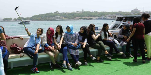 Öğrenciler İstanbul'u tanıyor
