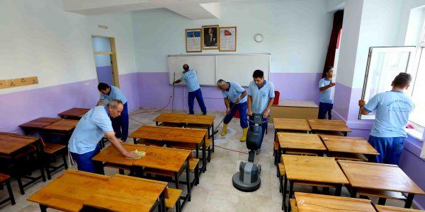 Okullarda Yeni Eğitim Dönemi Hazırlıkları Tamamlandı