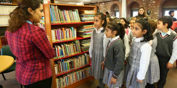 Orhan kemal il halk kütüphanesi'nin minik ziyaretçileri