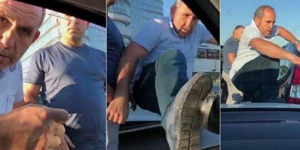 Pendik'teki trafik magandalarına tahliye