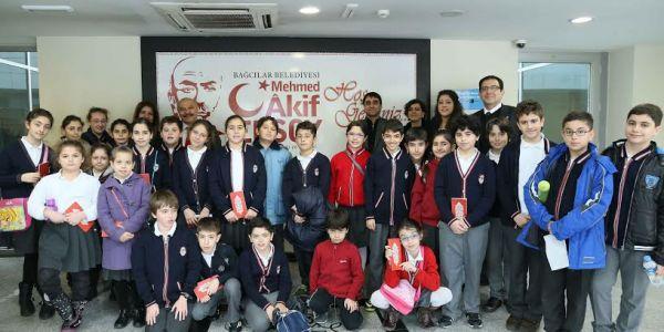 Şişli Özel Pangaltı Ermeni Okulu Öğrencileri Akif Müzesi'ni Ziyaret Etti