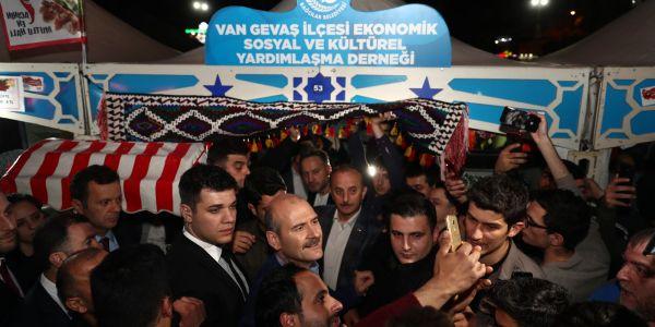 """Süleyman Soylu: """"Türkiye'ye Dışarıdan Yön Vermeye Çalışanlara 23 Haziran'da Gerekli Cevabı Verin"""""""