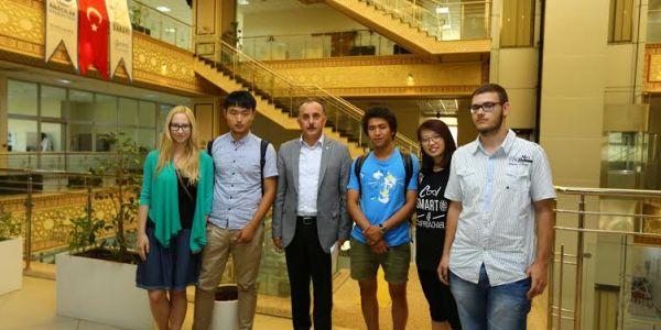Yabancı Öğrenciler Engelliler Sarayı İle İlgili Tez Çalışması Yaptı