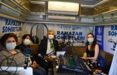 """Radyolardan Sarıyer'de Ramazan Özel Yayını, Başkan Genç """"Nefesi Kesilene Nefes Olacağız"""""""