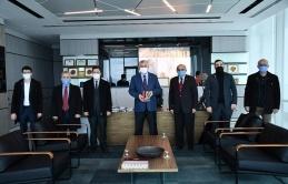 Saadet Partisi Sarıyer'den Şükrü Genç'e Ziyaret