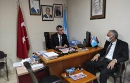 DSP Sarıyer İlçe Başkanı Pınarbaşı'na Ziyaret