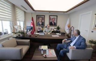 Ak Parti Sarıyer İlçe Başkanı Cevahiroğlu'na...