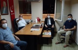 """İlçe Başkanı Demir: """"Yaşanabilir Bir Türkiye..."""