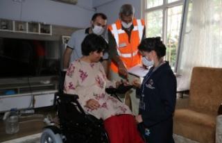 İBB, Hırsızların Mağdur Ettiği Engelli Kadının...