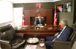 MHP Sarıyer İlçe Başkanı Başpınar'a Ziyaret