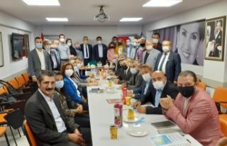 İYİ Parti İstanbul İl Başkanı Buğra Kavuncu,...