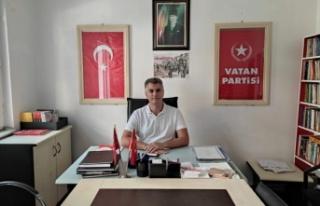 Vatan Partisi Sarıyer İlçe Başkanı Suntay'dan...
