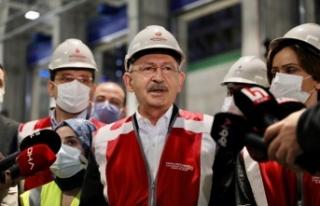 CHP Lideri Kılıçdaroğlu Yeni Yıla İstanbul'da...
