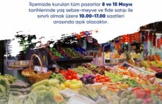 Sarıyer'de Tüm Pazarlar 8 ve 15 Mayıs Tarihlerinde...