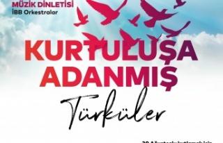 """30 Ağustos Zafer Bayramı'nı, """"Kurtuluşa Adanmış..."""