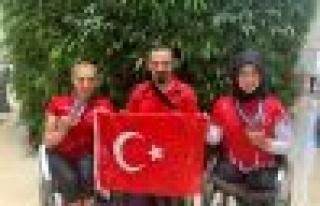ALTIN KIZLAR TUNUS'TAN 5 ALTIN 3 GÜMÜŞ MADALYAYLA...